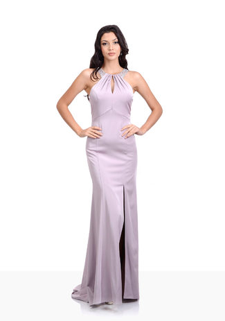 Abendkleid in Orchid Lilac