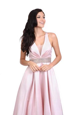 Abschlusskleid pink