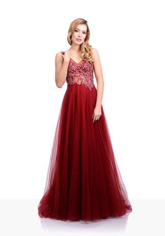 Tul Vestido de noche en Rio Red
