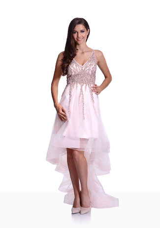 Vokuhilla dress in Pearl Pink