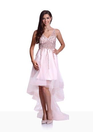 Vokuhilla Vestido en color Rosa Perla