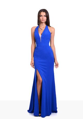 Abendkleid in Palace Blue